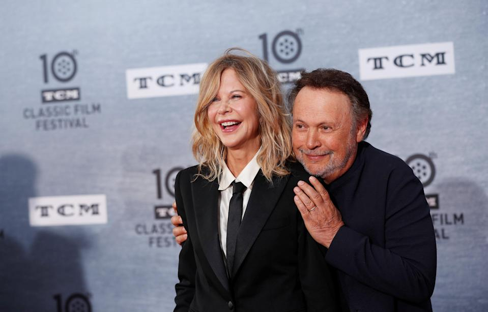 Billy Crystal and Meg Ryan (Credit: Reuters)