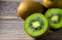 """<p>Eating two kiwis before bed may be the ticket to better sleep. Although studied in adults and not kids, data published in the <a href=""""https://pubmed.ncbi.nlm.nih.gov/21669584/"""" class=""""link rapid-noclick-resp"""" rel=""""nofollow noopener"""" target=""""_blank"""" data-ylk=""""slk:Asia Pacific Journal of Clinical Nutrition"""">Asia Pacific Journal of Clinical Nutrition</a> suggests eating two kiwis one how before bed results falling asleep 42% more quickly compared with people who don't eat kiwis before bedtime.</p>"""