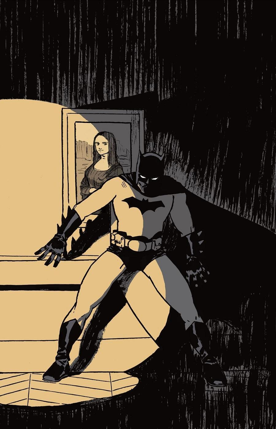 Batman: The World's French cover art.