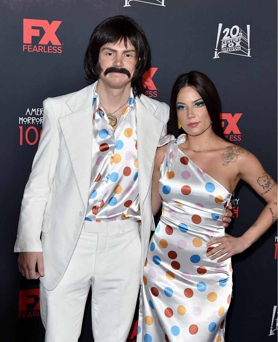 Halsey is currently dating actor Evan Peters. (Photo: Axelle/Bauer-Griffin/FilmMagic)
