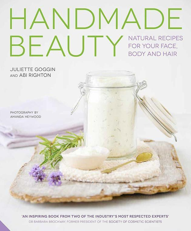 Check out the recipes below taken from 'Homemade Beauty' by cosmetic experts Juliette Goggin and Abi Righton.
