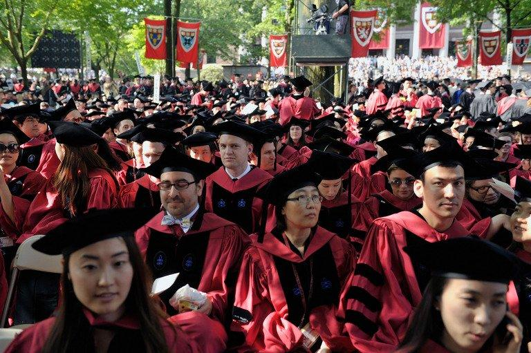 Commencement Exercises are held at Harvard University on May 30, 2013 in Cambridge, Massachusetts