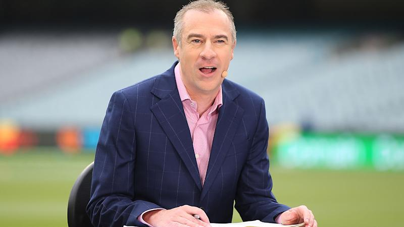 Gerard Whateley, pictured here in action for Fox Cricket.