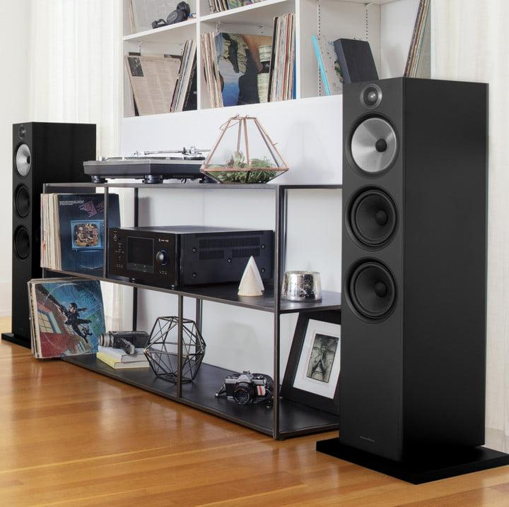bowers wilkins upgraded 600 series speakers hit stores. Black Bedroom Furniture Sets. Home Design Ideas