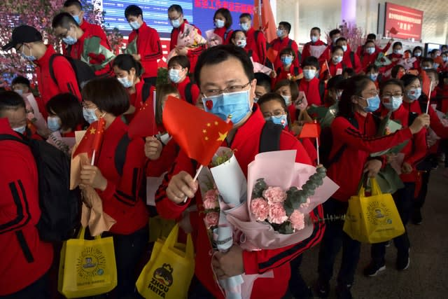 Virus Outbreak China Lockdown Lifted