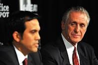 Heat coach Erik Spoelstra will be under pressure to win with president Pat Riley always a possibility to return to the bench