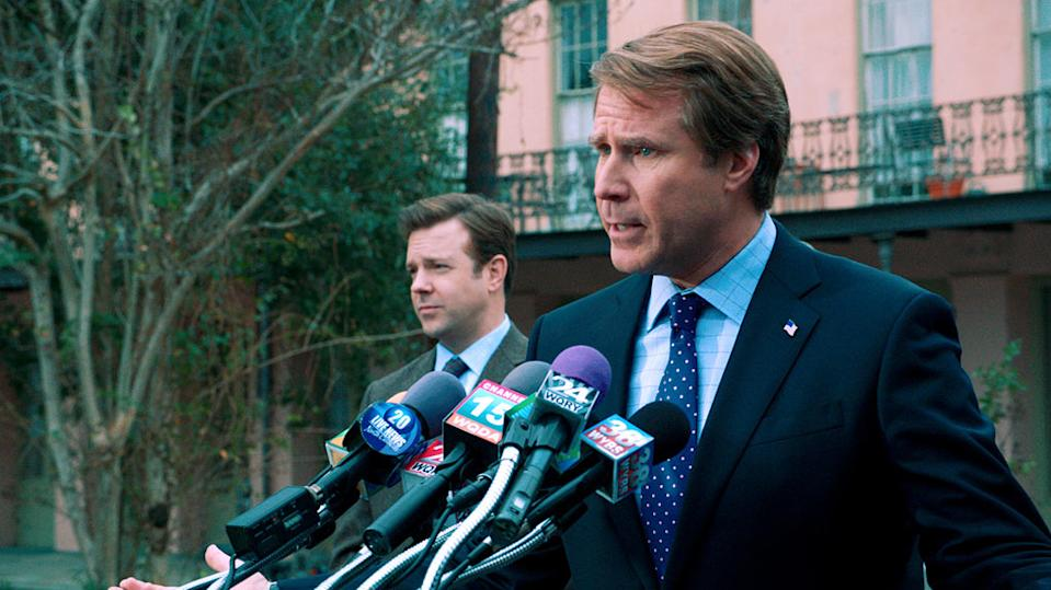 """Zach Galifianakis and Will Ferrell in Warner Bros. Pictures' """"The Campaign"""" - 2012"""