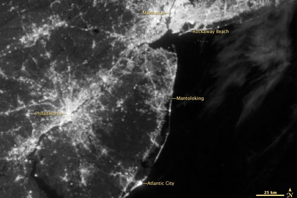 This image was taken on Aug. 31, 2012 before Sandy knocked out the power.