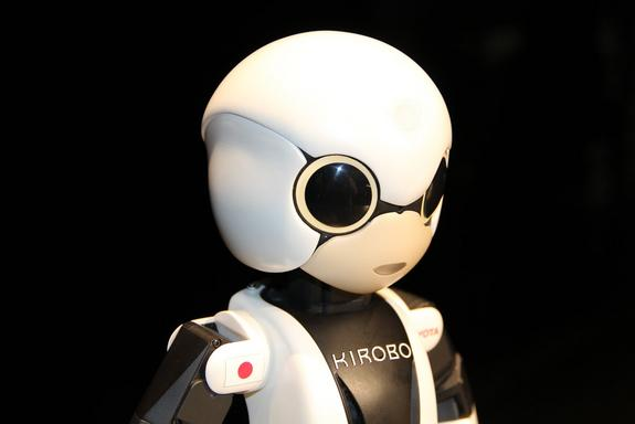 "Kirobo's name comes from a combination of the Japanese word for hope, ""kibo,"" and the word ""robot."" Officials from the project chose the name from the more than 2,452 entries submitted by interested fans of the project. Image posted June 27, 20"