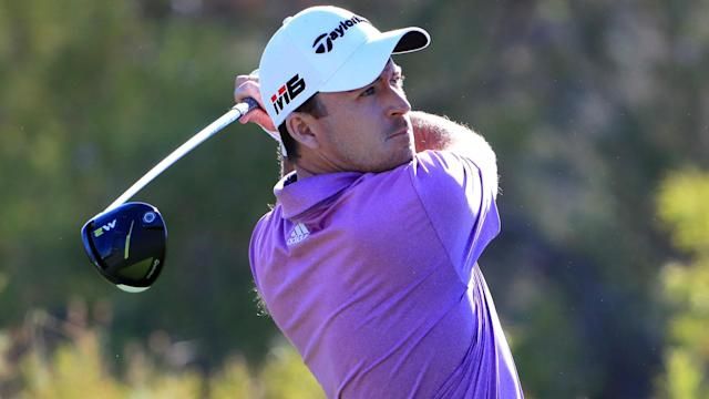 Canadian Nick Taylor edged into the lead after the first round of the Shriners Hospitals for Children Open.