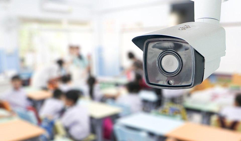 The Education Bureau says schools should observe the privacy ordinance if they wish to install CCTV cameras on campus. Photo: Shutterstock