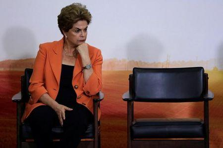 Brazil's Supreme Court urged to bar Rousseff from politics