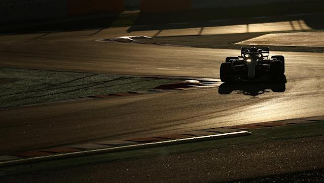 Motor Racing - F1 Formula One - Formula One Test Session - Circuit de Barcelona-Catalunya, Montmelo, Spain - March 9, 2018. Valtteri Bottas of Mercedes during testing. Picture taken March 9, 2018. REUTERS/Albert Gea TPX IMAGES OF THE DAY