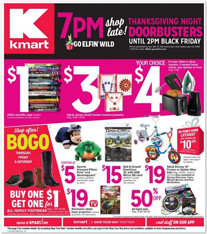 Leaked Kmart Black Friday Ad Cheap Samsung Hdtvs And Cut Price Headphones