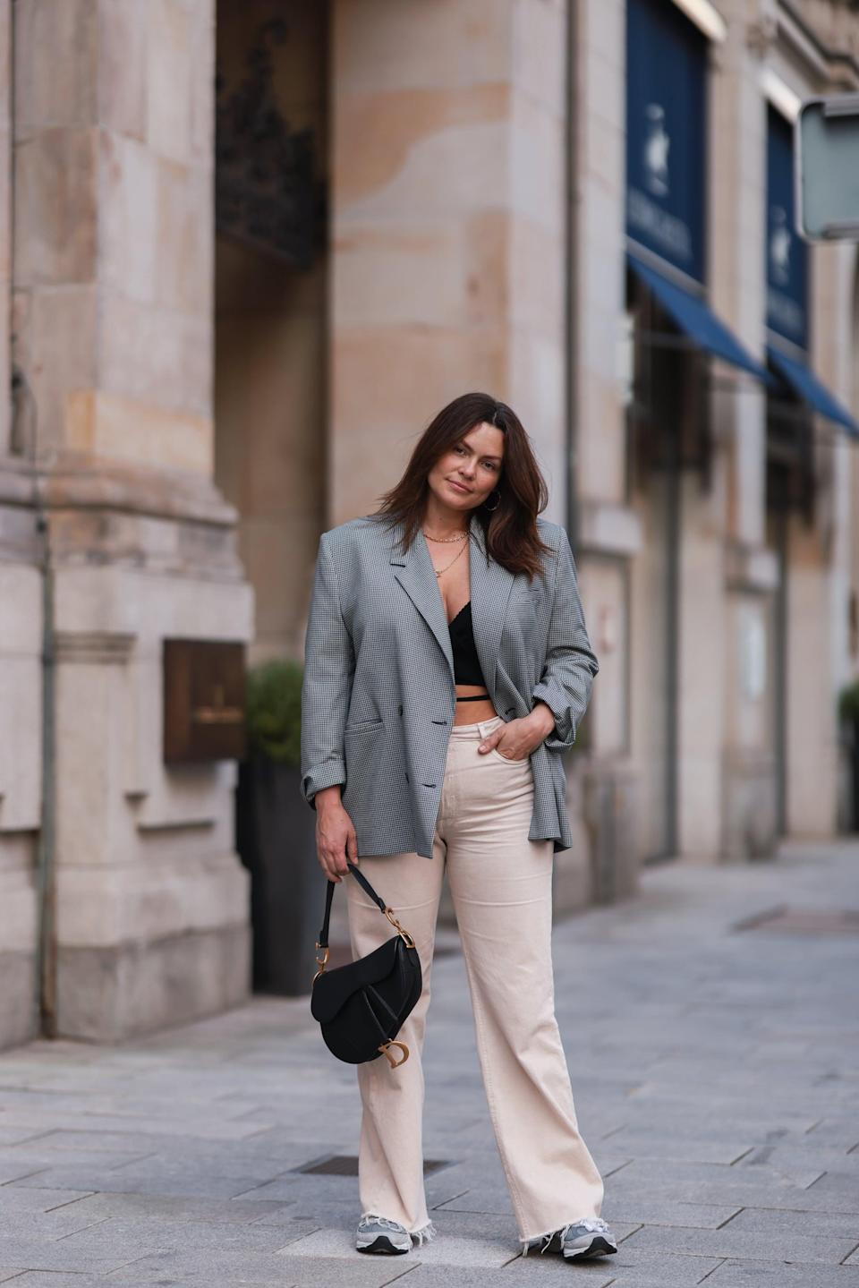 <p>Polish off a pair with a blazer, then thrown on trainers for a casual finish. </p>