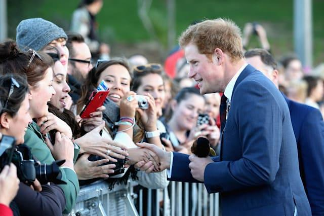 Prince Harry arrives in New Zealand