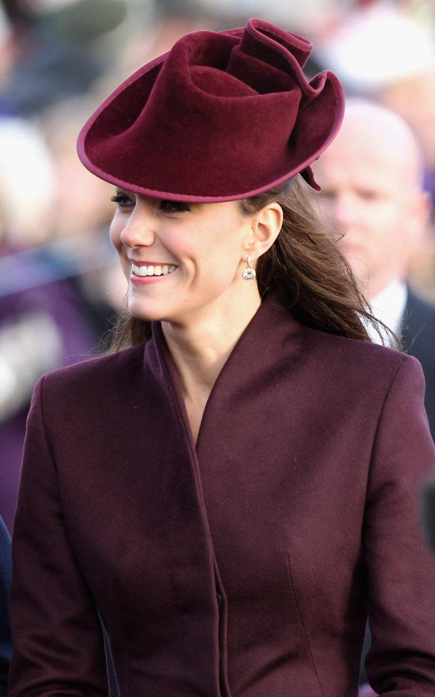 Kate Middleton Christmas day outfit