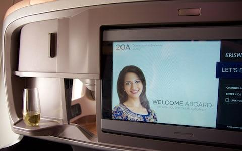 IFE screens on some Singapore Airlines planes have inbuilt cameras - Credit: ISTOCK
