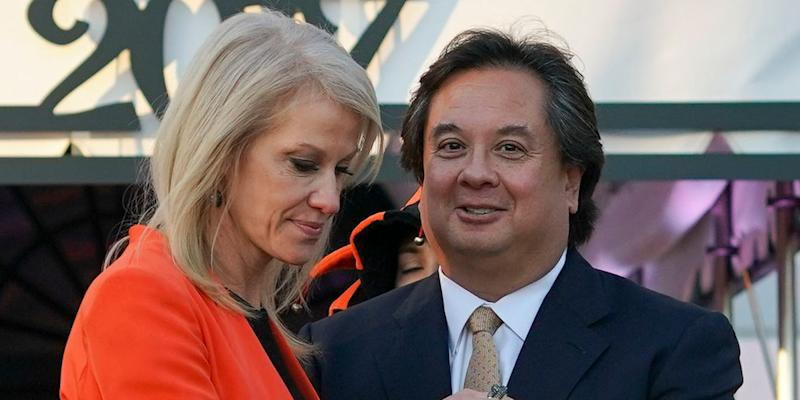 George Conway took aim at President Donald Trump over his tweet about Roger Stone. (Photo: ASSOCIATED PRESS)