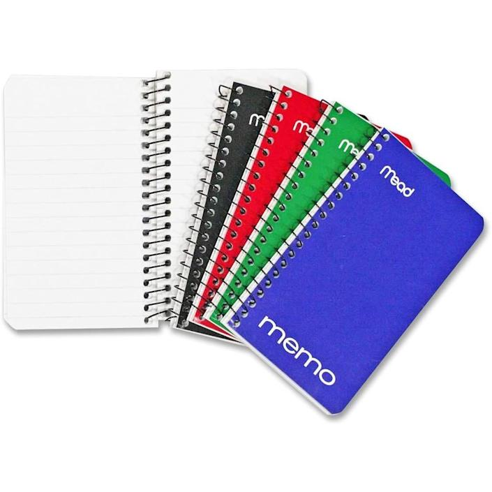 Mead Small Spiral Notebooks