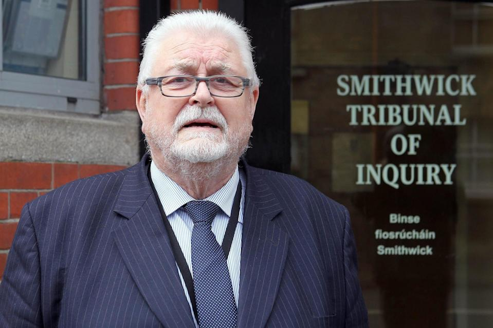 Lord Ken Maginnis, pictured, has been accused by SNP's Hannah Bardell  of