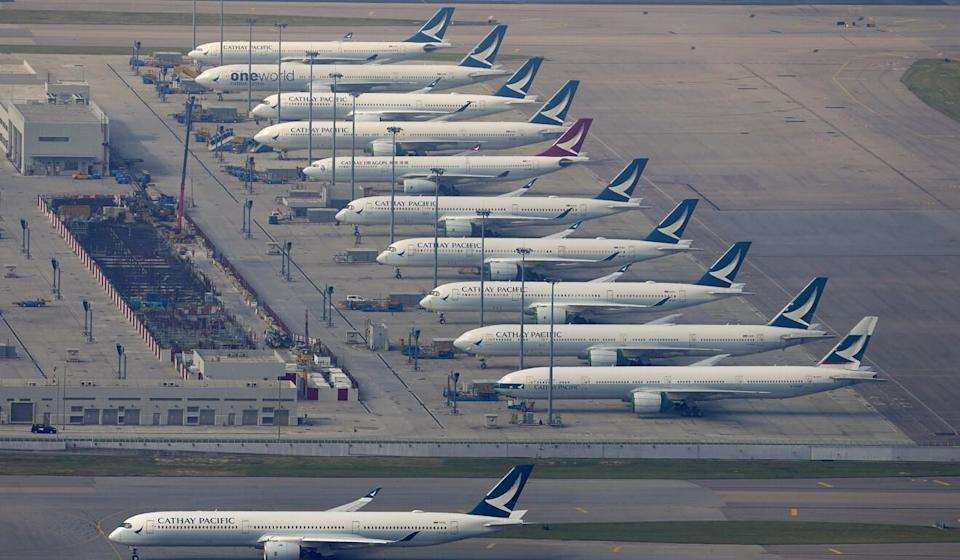 The US has asked Cathay Pacific to submit its schedules for all US flights within seven days. Photo: Sam Tsang