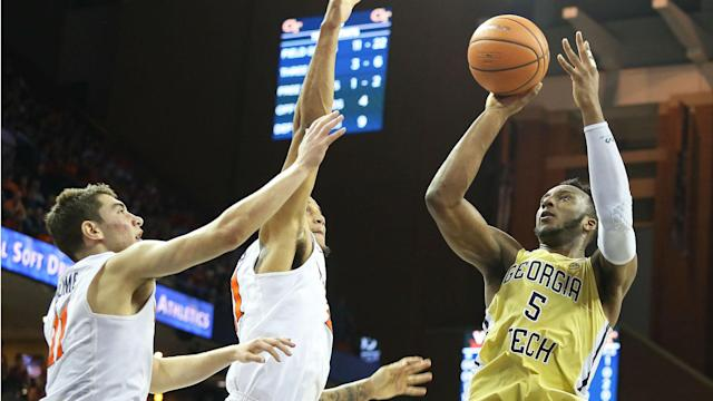 Okogie averaged 18.2 points and 6.3 rebounds per game as a sophomore last season.