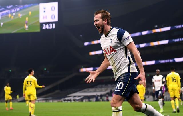 Kane has said he would stay at Tottenham as long as he can see progression at the club