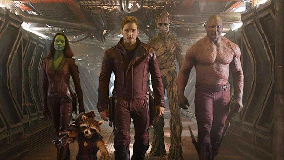 Could Kevin Bacon join the Guardians of the Galaxy in a future MCU film? (Credit: Marvel/Disney)