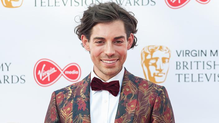 Tom Read Wilson says he's happy being single and enjoys his own company (Image: Getty Images)