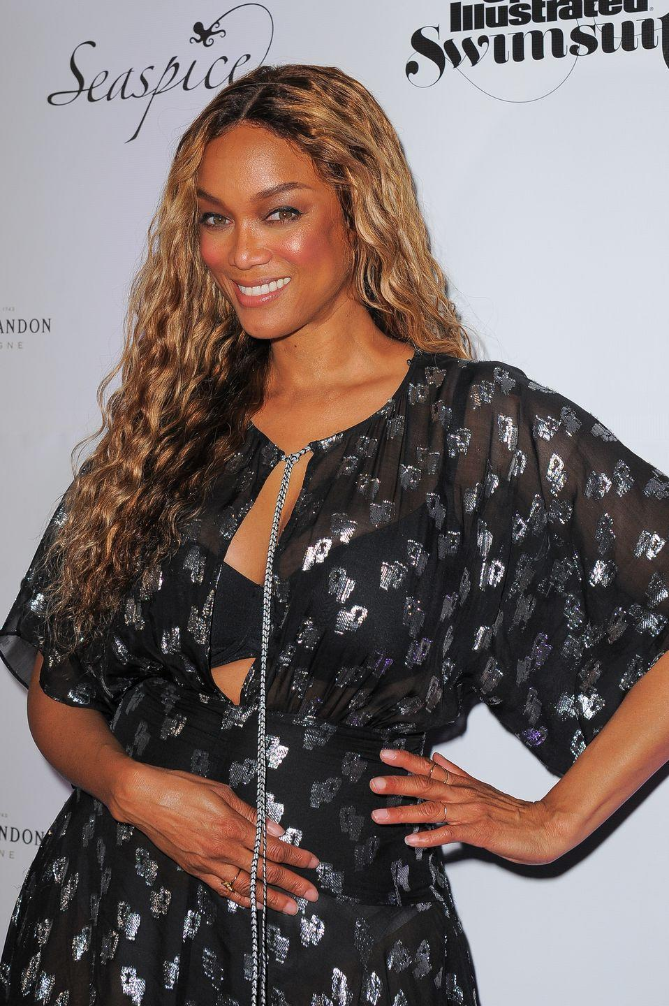 """<p>In 2011, <em>America's Next Top Model </em>creator Tyra Banks <a href=""""https://twitter.com/tyrabanks/status/125396423771566081?s=20"""" rel=""""nofollow noopener"""" target=""""_blank"""" data-ylk=""""slk:supported a fan on Twitter"""" class=""""link rapid-noclick-resp"""">supported a fan on Twitter</a> who said she wanted to be a model but had braces. Tyra responded with, """"I wore braces for two years and I became a model...TyTy.""""</p>"""
