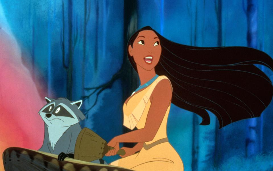 Irene Bedard voiced Pocahontas in the 1995 Disney animated hit that celebrates its 25th anniversary this year. (Photo: Buena Vista Pictures/courtesy Everett Collection)
