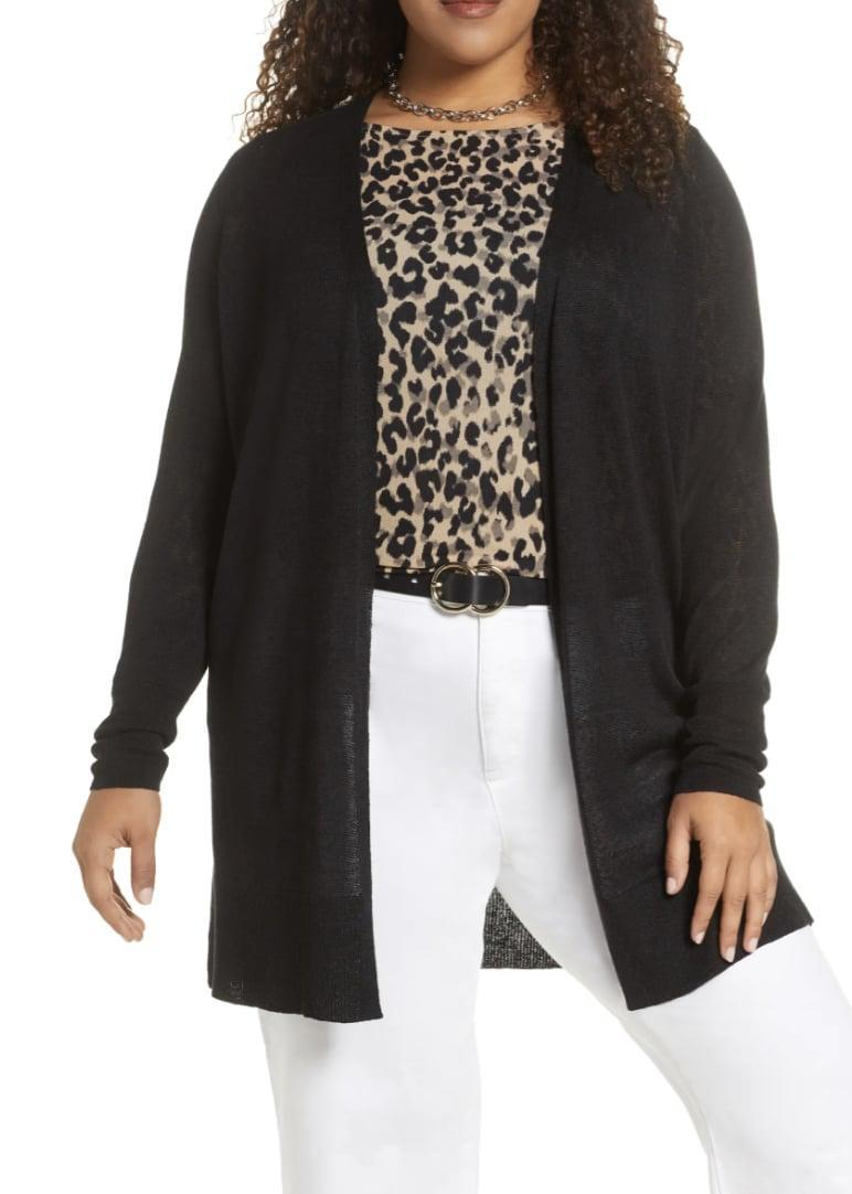 <p>This <span>Halogen Long Cardigan</span> ($69) is designed for a an amazing fit.</p>