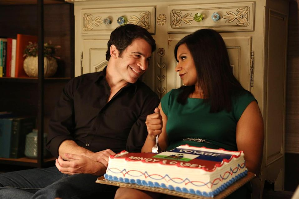 <p>Mindy Kaling's signature comedy has all the heart and humor of the best romantic comedies, plus a delicious frenemies-to-lovers storyline. Rom-com-loving ob-gyn Mindy Lahiri (Kaling) struggles with an often-disastrous personal life, dating all the wrong guys - until the tension between her and someone she's not even sure if she likes turns out to be just what she's looking for.</p> <p><span>Watch <strong>The Mindy Project</strong> on Hulu</span>.</p>