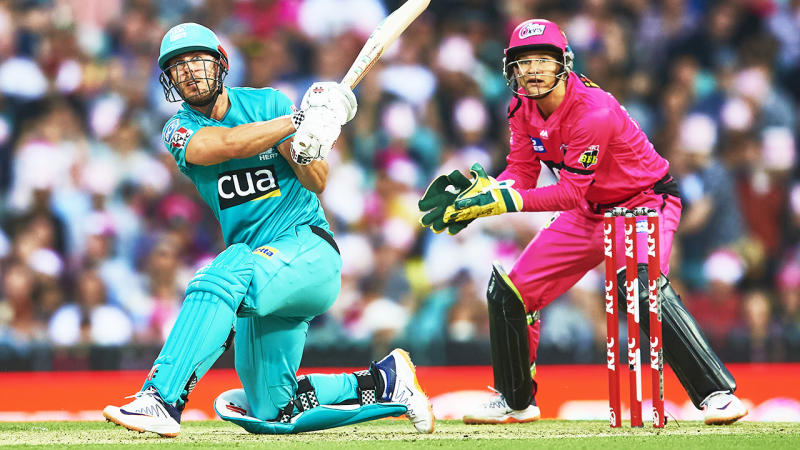 Chris Lynn, pictured here in action against the Sydney Sixers.