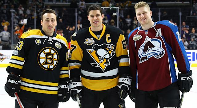 The trio of Nova Scotia-born players are training together back in their home province. (Photo by Bruce Bennett/Getty Images)