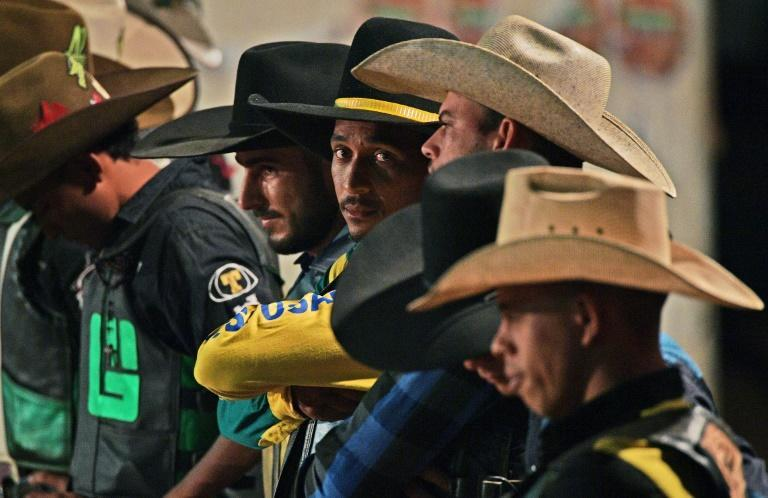 In recent years, Monte Negro has expanded as a key cattle town with a strong cowboy culture (AFP Photo/CARL DE SOUZA)