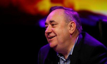 Former First Minister of Scotland Alex Salmond talks about his show 'Alex Salmond Unleashed' at a news conference at the Edinburgh Fringe, Edinburgh, Scotland, Britain August 12, 2017. REUTERS/Russell Cheyne