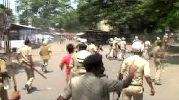 "There have been angry protests in India's eastern Bihar state after the death of 22 children from a contaminated school meal. Protesters attacked buses and cars and destroyed a kiosk in the village of Masrakh where the deaths happened. The children, aged between eight and 12, were taken ill after eating a free school lunch. They were rushed to the local hospital and later to the state capital for treatment. Dozens, including the school cook, remain in hospital and there are fears the death toll could rise. Indian officials say there was a large dose of an insecticide – organophosphorous – in the food. K M Dubey, a doctor at Chapra District Hospital, said: ""Organophosphorous is a compound, also used as a pesticide for crops. It is very dangerous. Even a small quantity of it would prove fatal for small children. Looking at the critical condition in which they were brought to the hospital, it seems like there were large quantities of poison in the food that they consumed."" The authorities have suspended a food inspector and registered a case of criminal negligence against the school headmaster."