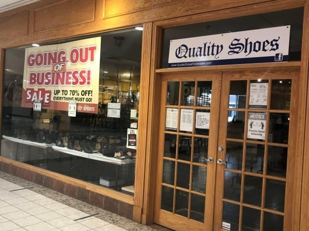 Quality Shoes at Kings Place is closing after nearly 40 years.