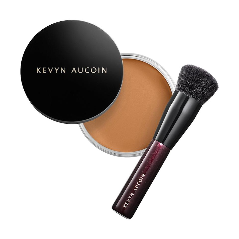 """<p><strong>KEVYN AUCOIN</strong></p><p>sephora.com</p><p><strong>$52.00</strong></p><p><a href=""""https://go.redirectingat.com?id=74968X1596630&url=https%3A%2F%2Fwww.sephora.com%2Fproduct%2Fbeauty-foundation-balm-P447734&sref=http%3A%2F%2Fwww.bestproducts.com%2Fbeauty%2Fg26789214%2Fnew-beauty-products%2F"""" target=""""_blank"""">Shop Now</a></p><p>Kevyn Aucoin just introduced an innovative new way to apply your foundation ... in balm form. The full-coverage, antioxidant-enriched formula has a powdery finish that gives skin a flawless finish. The best part? The brush is included! </p>"""
