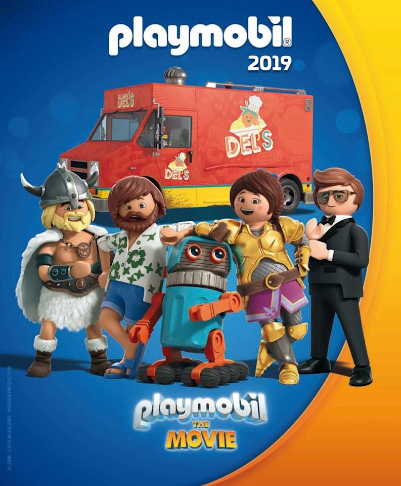 """<p><strong><strong>Release date:</strong> </strong>December 6</p><p>We live in a golden age where every toy set you had as a kid will get its own feature film in 2019. The live-action/animation hybrid will follow a pair of siblings as they venture into Playmobil world, and the voice cast includes Meghan Trainor, Adam Lambert, and Daniel Radcliffe.</p><p><strong><strong><a class=""""body-btn-link"""" href=""""https://www.youtube.com/watch?v=xgyP9GG9Ecw"""" target=""""_blank"""">WATCH TRAILER</a></strong></strong></p><p><strong><strong>RELATED: </strong></strong><a href=""""https://www.goodhousekeeping.com/life/entertainment/g27633902/kids-movies-2020/"""" target=""""_blank"""">The Best Kids' Movies 2020 Has in Store for Families</a><br></p>"""