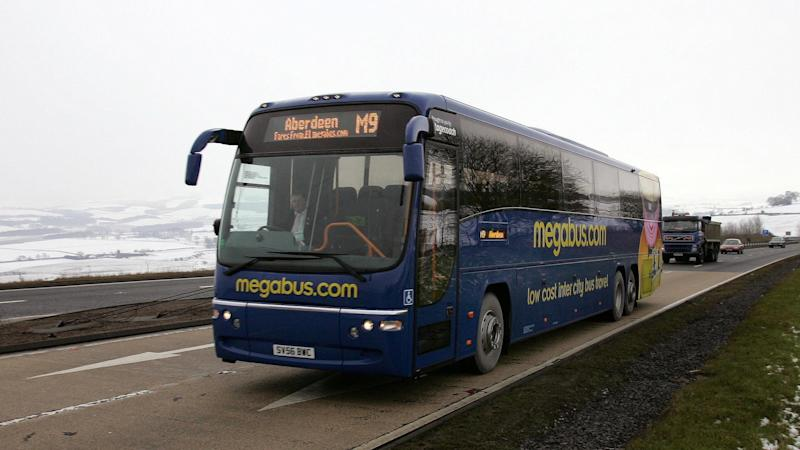 Megabus coach services in England and Wales will be suspended by Sunday