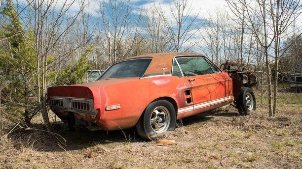 Fabled 'Little Red' prototype Shelby Mustang discovered!