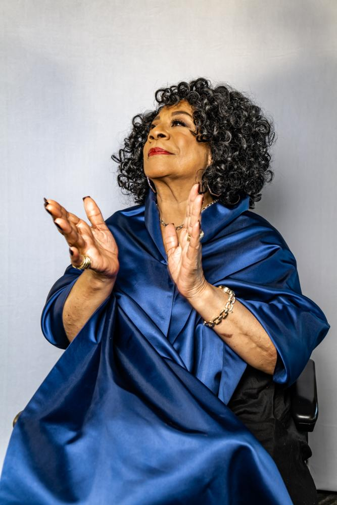 Merry Clayton in 2021. (Photo: Mathieu Bitton)