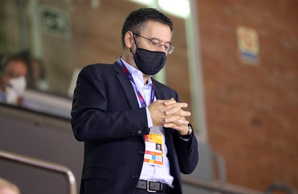 Club president Josep Bartomeu resigned along with the rest of the Barcelona board on Tuesday, having overseen years' worth of on-field decay. (Photo by Joan Valls/Urbanandsport/NurPhoto via Getty Images)