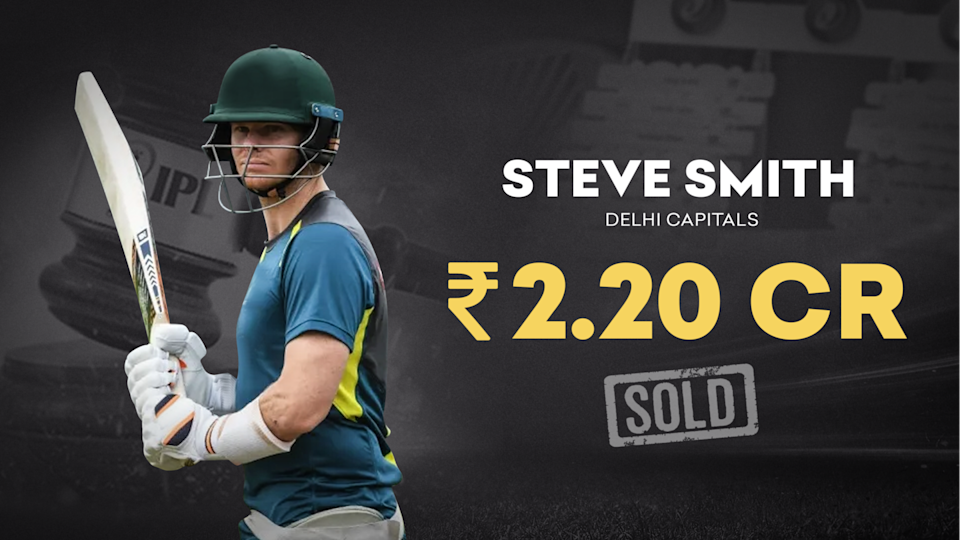 IPL 2021 Auction: DC rope in Australian star Steve Smith