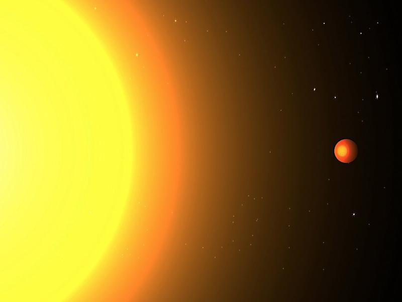 kepler 78b exoplanet illustration