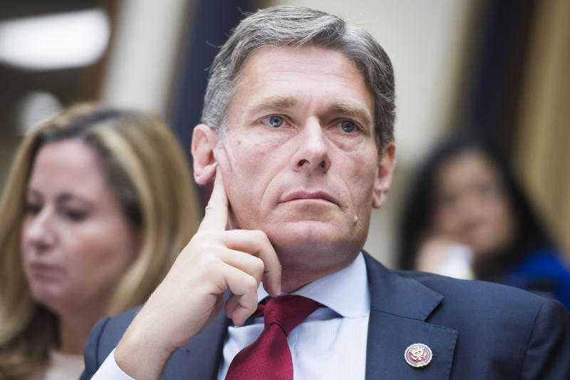 UNITED STATES - SEPTEMBER 24: Rep. Tom Malinowski, D-N.J., attends a hearing titled Oversight of the Trump Administrations Muslim Ban, in Rayburn Building on Tuesday, September 24, 2019. The hearing was held jointly by the House Judiciary Subcommittee on Immigration and Citizenship and the Foreign Affairs Subcommittee on Oversight and Investigations. (Photo By Tom William/CQ-Roll Call, Inc via Getty Images)