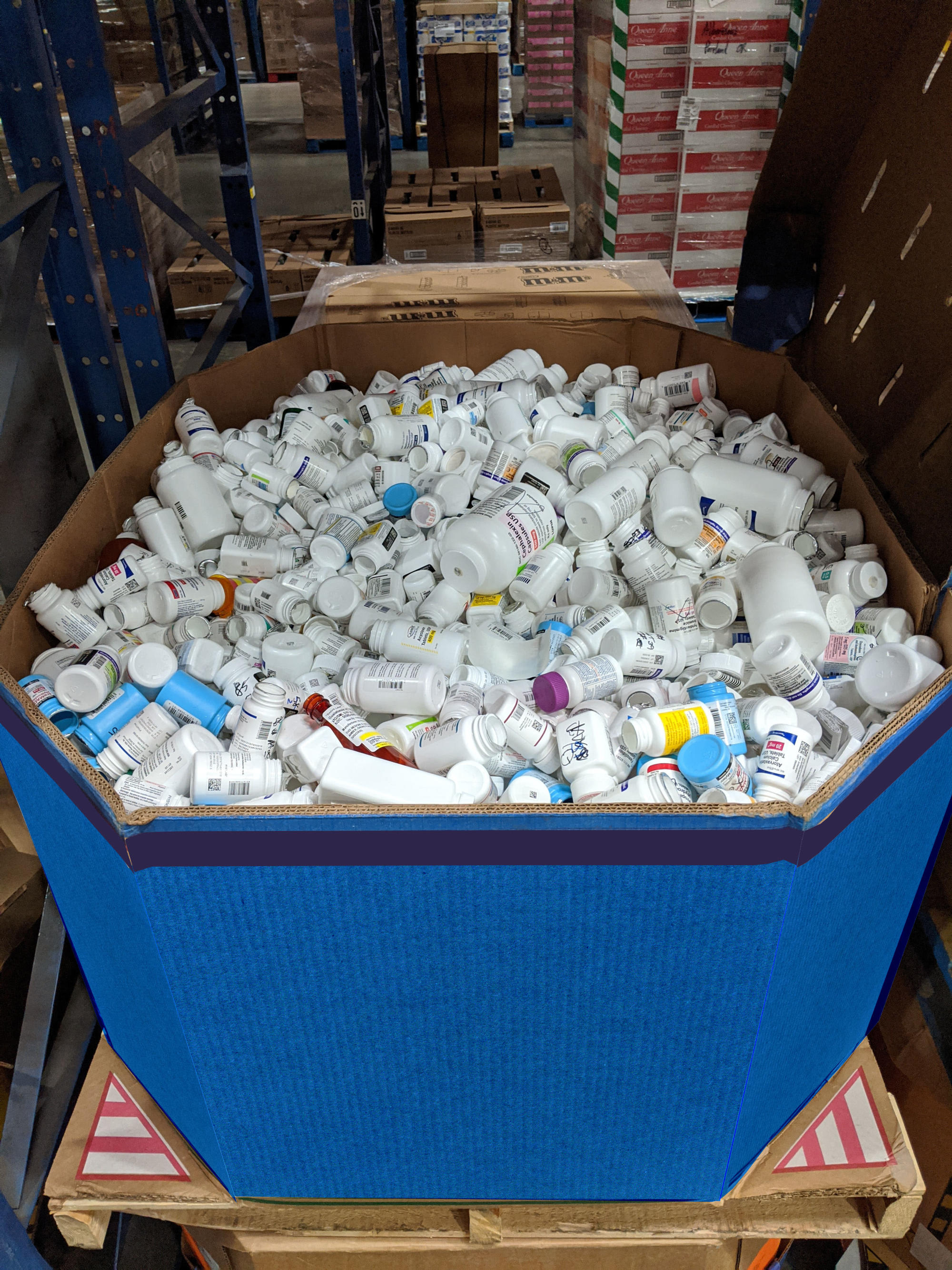 Trex Company And Albertsons Companies Recycle Bulk Pharmacy Dispensing Bottles To Make Decking Material And Keep Plastic Out Of Landfills